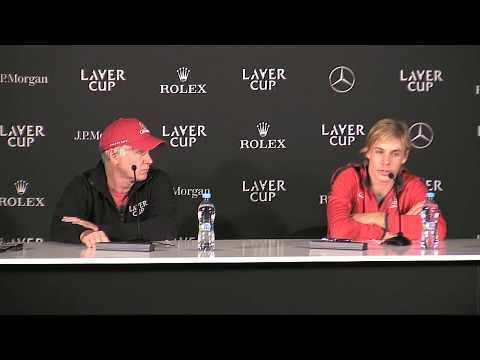 Denis Shapovalov press conference (Match 3) | Laver Cup 2017