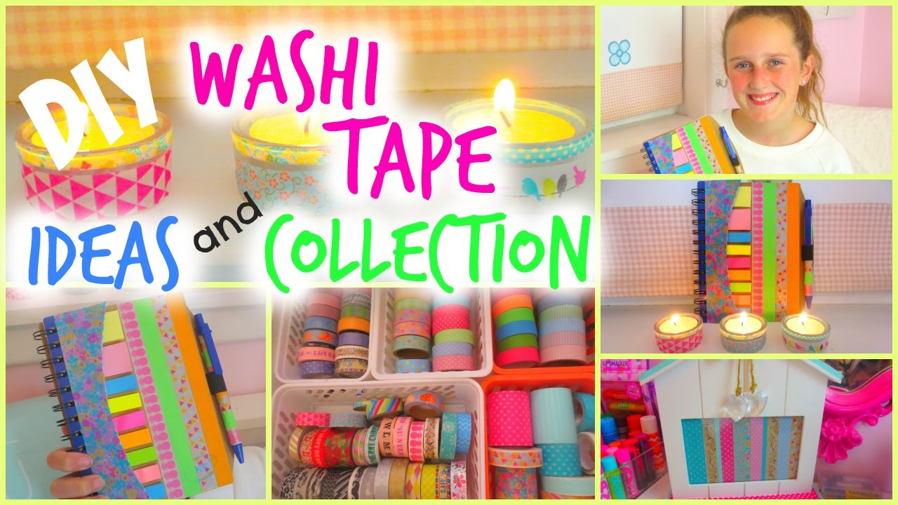 Diy Washi Tape Projects Easy Collection And Storage