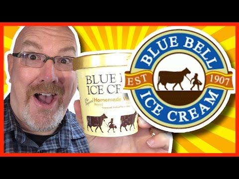 Blue Bell Ice Cream ♥ Homemade Vanilla from Gun Barrel City, Texas