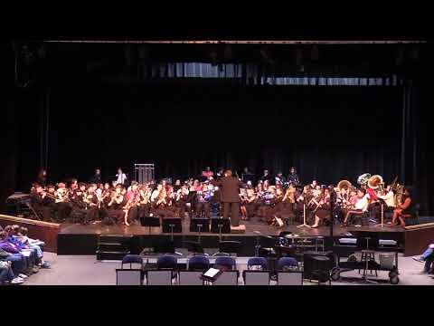 2020 Calhoun County Middle School Honor Band (2/1/2020) (AL)