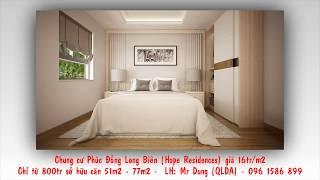 Chung cư Phúc Đồng Long Biên (Hope Residences ) giá 800tr/căn, chỉ cần 250tr đóng trước - 0961586899