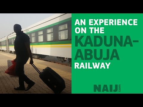 A ride on the Abuja-Kaduna railway