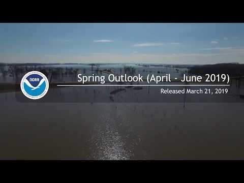 NOAA's spring 2019 flood and climate outlook for the United States