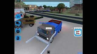 Roblox Gameplay Garbage Truck simulator | Geckoblox