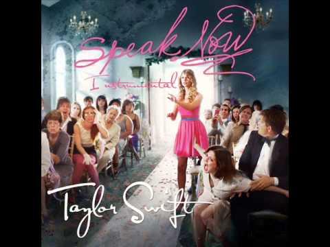 Speak Now - Taylor Swift Instrumental With Lyrics (HQ)