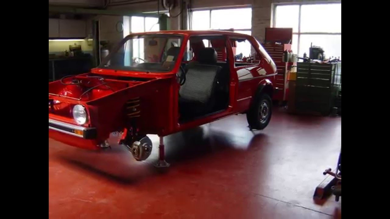 vw golf 1 diesel 1977 restoration youtube. Black Bedroom Furniture Sets. Home Design Ideas