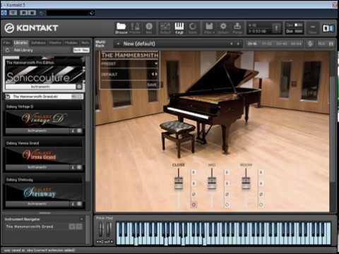 Best VST Piano -Soniccouture: The Hammersmith - VST Piano Sounds Demo.