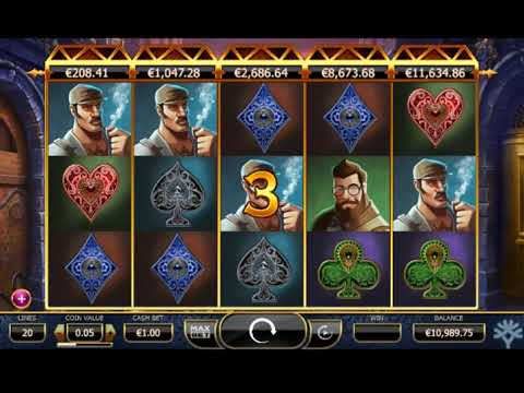 Игровой автомат HOLMES AND THE STOLEN STONES играть бесплатно и без регистрации онлайн