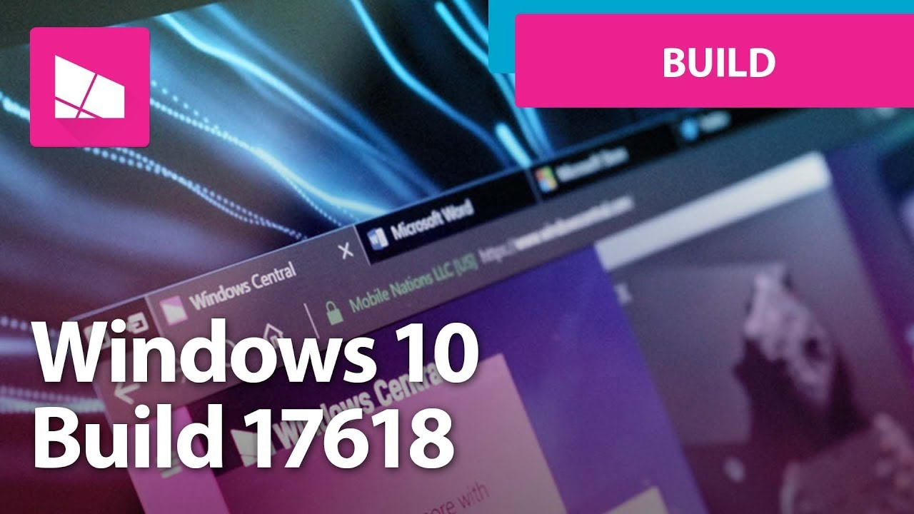 Windows 10 Build 17618 - Sets and Tabs in File Explorer