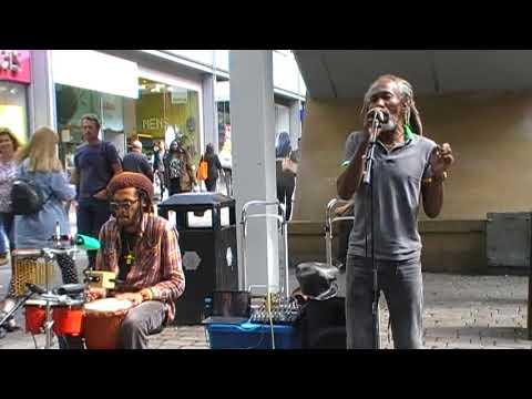 Manchester Life : Reggae music on market street