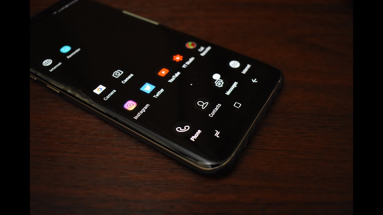 download black theme for samsung galaxy s8 s8 and note 8 free
