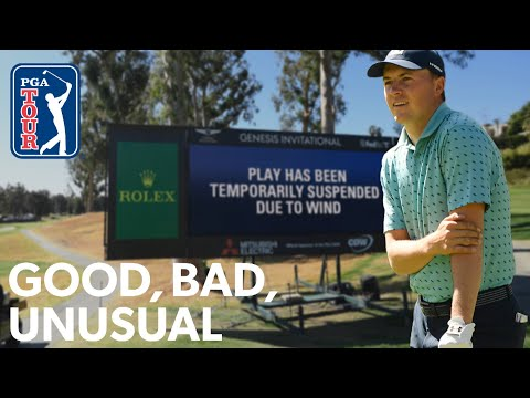 Spieth's wind delay tricks, Rory's Happy Gilmore impression, Tiger stops by