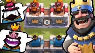 2V2 CLAN BATTLES! THIS IS NUTS! | Clash Royale