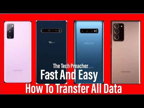 How To Transfer All Data From Old Android To New Android Phone | Fast And Easy 2020