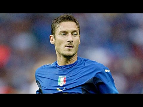 Francesco Totti all Italy Goals