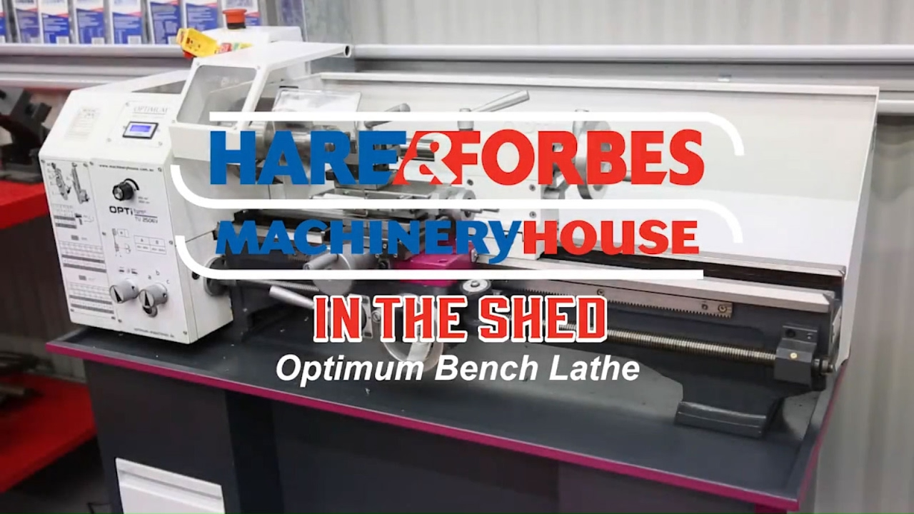 TU-2506V - Bench Lathe (L689) - In The Shed