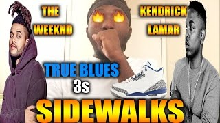The Weeknd - Sidewalks Feat. Kendrick Lamar (Reaction/Review) and True Blue 3s!