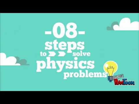 8 Steps To Solving Physics Problems - YouTube