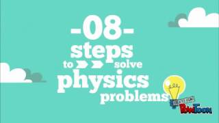 8 Steps To Solving Physics Problems