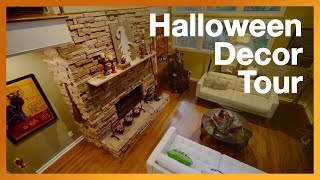 HALLOWEEN HOUSE DECORATIONS (Narration Starts @ 6:48) - Boddy Creek Manor - Inside Walkthrough TOUR