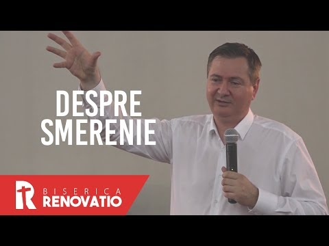 Florin Ianovici - Despre smerenie   MISIUNEA RENOVATIO
