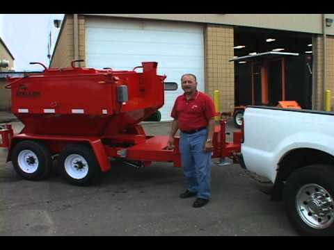 Asphalt Recycling Instructional Video By Falcon Road Maintenance Equipment