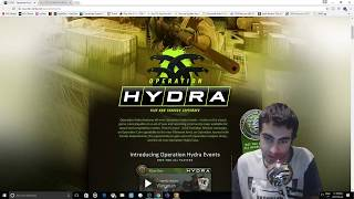 NEW CSGO OPERATION HYDRA CASE SKINS AND KNIFE GIVEAWAY