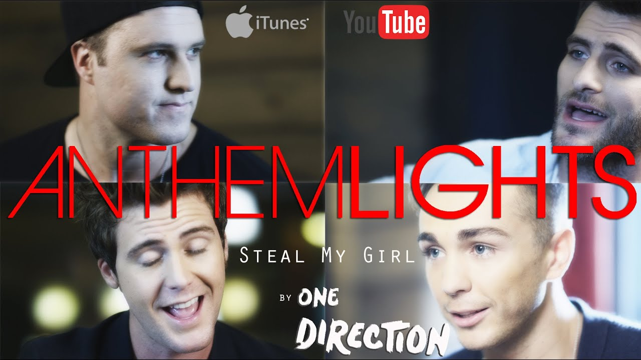 Charming Steal My Girl   One Direction | Anthem Lights Cover   YouTube Design