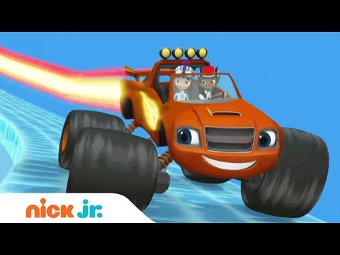 Blaze-Formations | Nick Jr. | Full Episodes (AD)