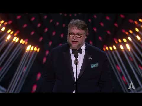 Guillermo del Toro wins Best Directing
