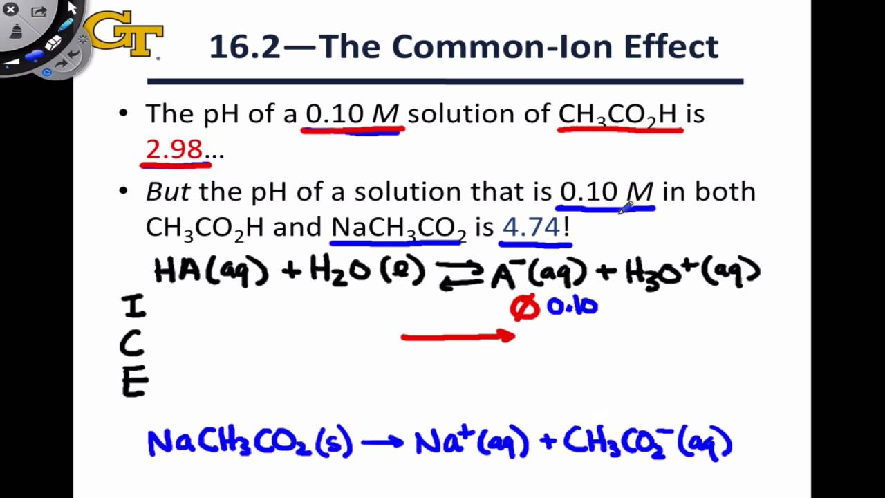 common ion effect Test your knowledge of common ion effect and selective precipitation using this interactive quiz use the worksheet to identify study points to.