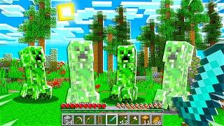 CREEPER ATTACK In HARDCORE Survival Minecraft!