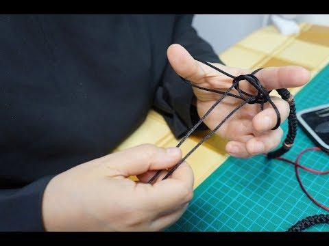 Секреты плетения православных четок. Плетение узелка.