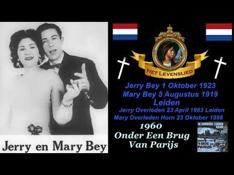 Jerry & Mary Bey   Onder een brug van Parijs 1960