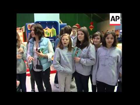 British school group on fencing tour stranded in Beijing