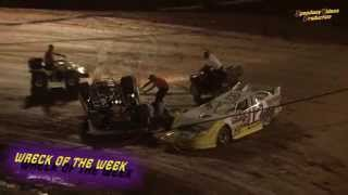 Wartburg Speedway | Johnny Ridings Late Model Crash