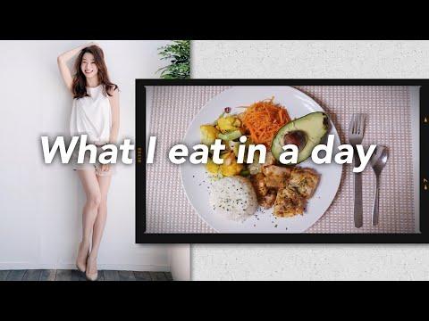 モデルのとある一日の食事【What I Eat In A Day】