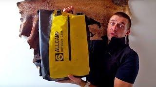 Обзор моего водонепроницаемого гермо-рюкзака ALLCAMP и набедренной сумки. Туристическое снаряжение.