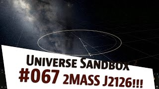 "Universe Sandbox 2 ""Planet 2MASS J2126 System als Fernbeziehung"" german 