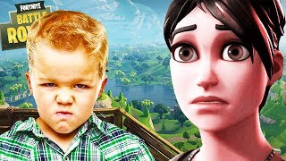 ANGRIEST SQUEAKER in FORTNITE! (Funniest Fortnite Video Ever) | Chaos