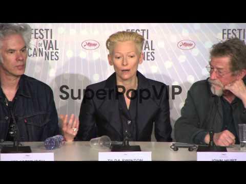 INTERVIEW - Tilda Swinton, Tom Hiddleston on the Vampire ...