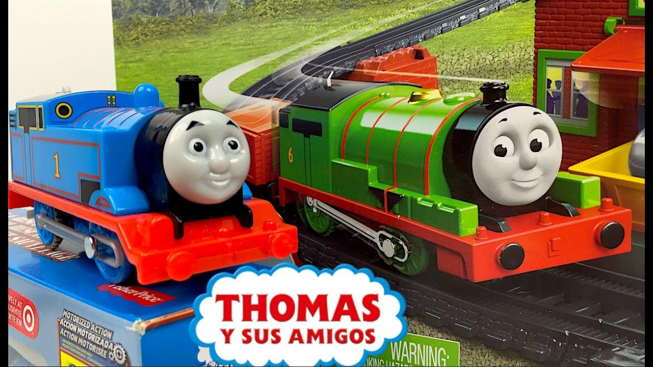THOMAS Y SUS AMIGOS DIESEL Y THOMAS AL RESCATE TRACKMASTER ...