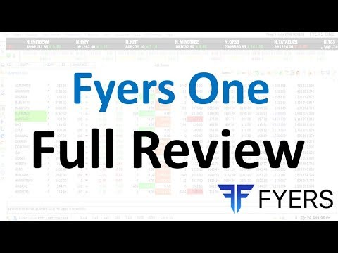 Fyers One full review | Best trading platform | free advance trading & charting platform
