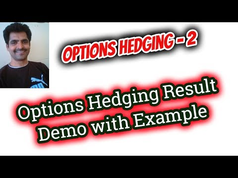 Options Trading in Tamil - 15 | Options Hedging Demo and Result