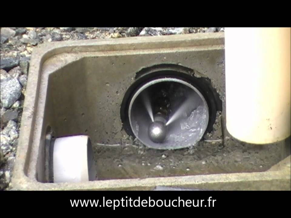 d bouchage canalisation youtube