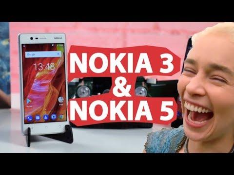 Nokia 3 и Nokia 5 – возвращение, которое мы заслужили?