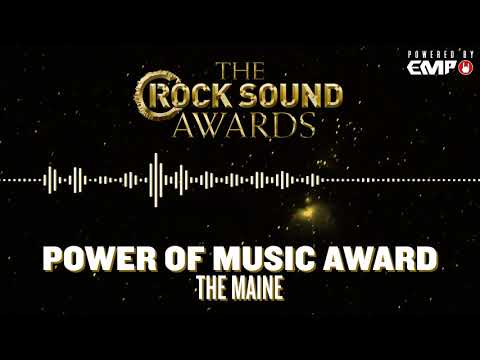 Rock Sound Awards Powered By EMP: Power Of Music Award - The Maine Mp3
