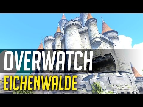 TGN Squadron Overwatch | New Map Eichenwalde Gameplay | MFPallytime Moves the Battering Ram Payload