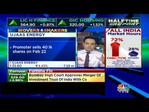Ujaas Energy Promoters Sell 40 Lakh Shares