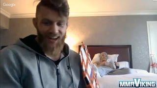Emil Meek UFC Debut Interview